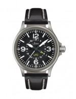 20mm 黑色雙層牛皮錶帶 (不含手錶)
